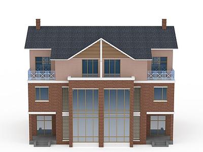 3d別墅模型