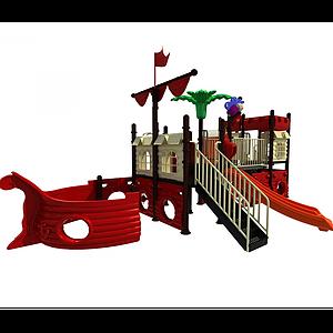 兒童滑滑梯模型