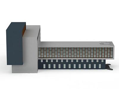 3d辦公樓模型