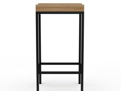 3d創意高腳凳模型