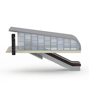 地鐵站模型