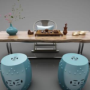 3d現代風格<font class='myIsRed'>茶桌</font>模型