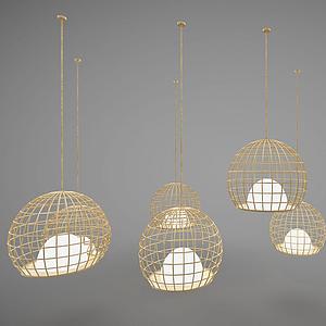 現代風格吊燈模型