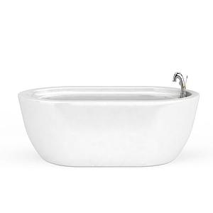 小型浴缸模型