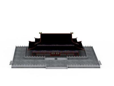 3d古代建筑免費模型