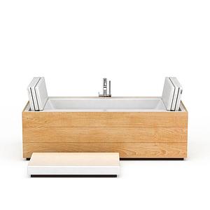 創意按摩浴缸模型