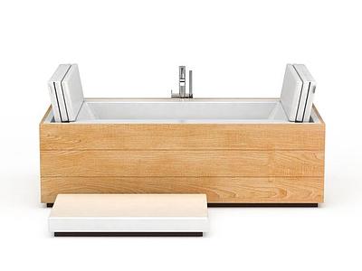 3d創意按摩浴缸模型