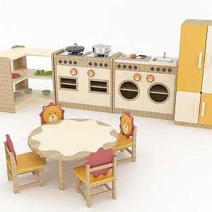 兒童廚房模型