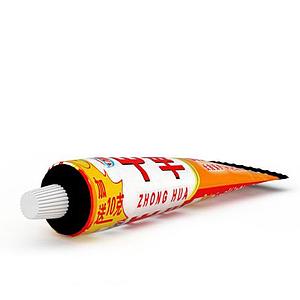 中華牙膏模型