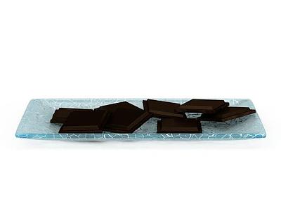 3d巧克力模型