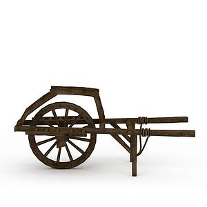 獨輪手推車模型