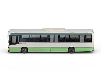3d市政公交車免費模型