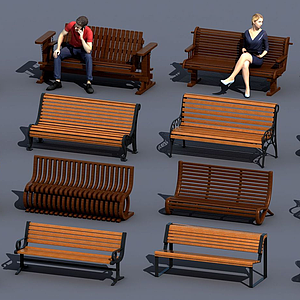 歐式戶外公園模型