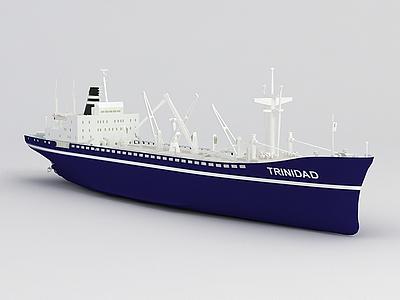 3d輪船免費模型
