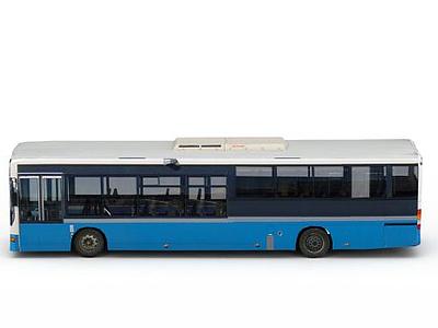 3d公交車免費模型