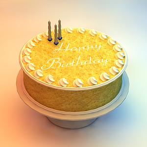 生日蛋糕模型