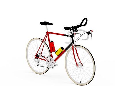 3d山地自行車模型