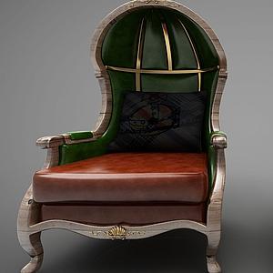 现代风格休闲沙发模型