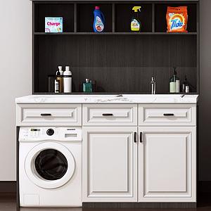 洗衣柜模型