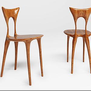 實木椅子模型