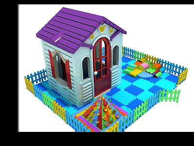 3d兒童玩具<font class='myIsRed'>房子</font>模型