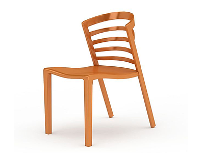 3d創意精品實木椅免費模型