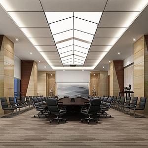 現代會議室模型