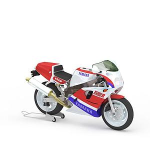 炫酷摩托賽車模型