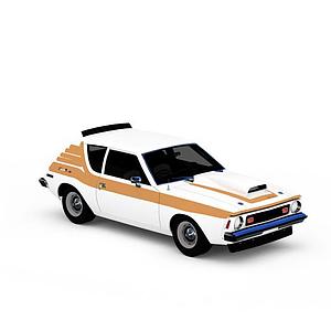 3dAMC<font class='myIsRed'>跑車</font>模型