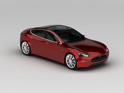 3d<font class='myIsRed'>特斯拉Tesla汽車</font>模型