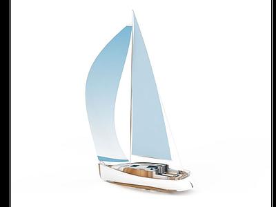 3d帆船免費模型