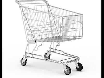 3d超市購物車免費模型