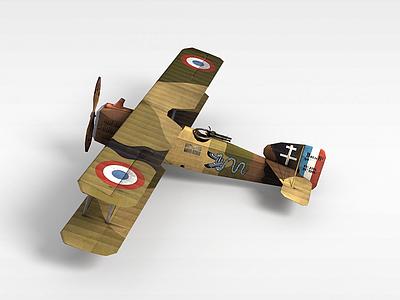 雙翼飛機模型