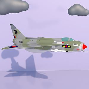 3d軍事戰斗機模型