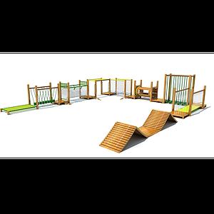 木質拓展模型
