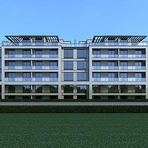 單體住宅模型