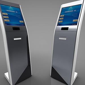 現代風格電子屏模型