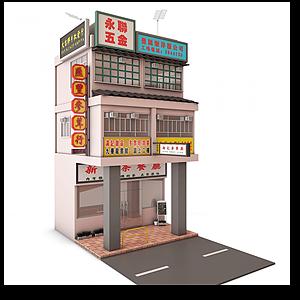 街景建筑模型