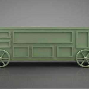 3d現代風格火<font class='myIsRed'>車</font>箱模型