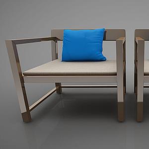 現代風格椅子模型