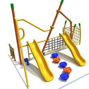 游樂設施模型