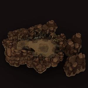 英雄聯盟游戲場景模型