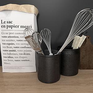 廚房用具模型