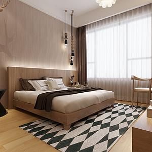 東南亞風格臥室模型