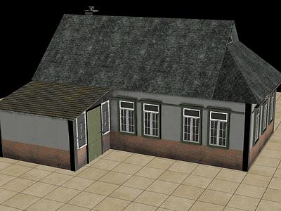 3d農村<font class='myIsRed'>房子</font>模型
