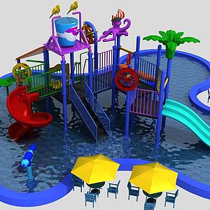 水上樂園模型