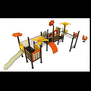 簡單滑梯模型