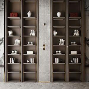 現代風格裝飾柜模型