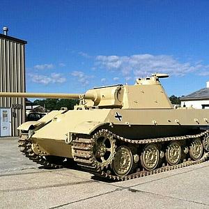 黑豹坦克模型
