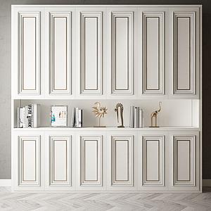 家具飾品大衣柜組合模型